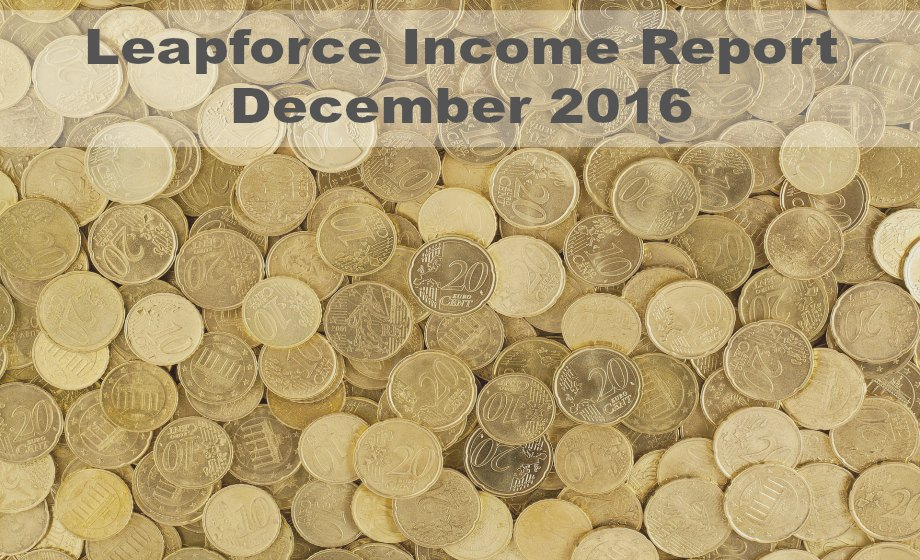 Search Engine Evaluator Income – December