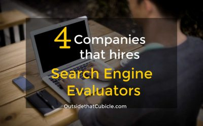 The Only 4 Search Engine Evaluator Companies Hiring in 2020
