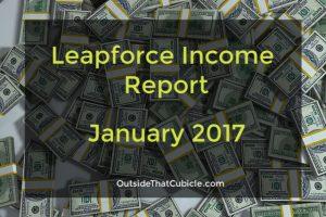 Leapforce Search Engine Evaluator Income – January