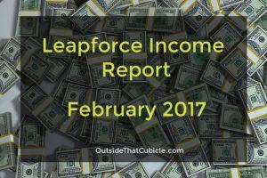 Leapforce Income Report – February