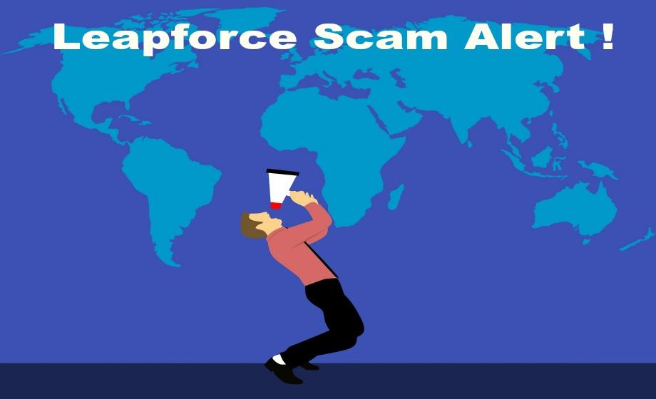 Leapforce Scam Alert !