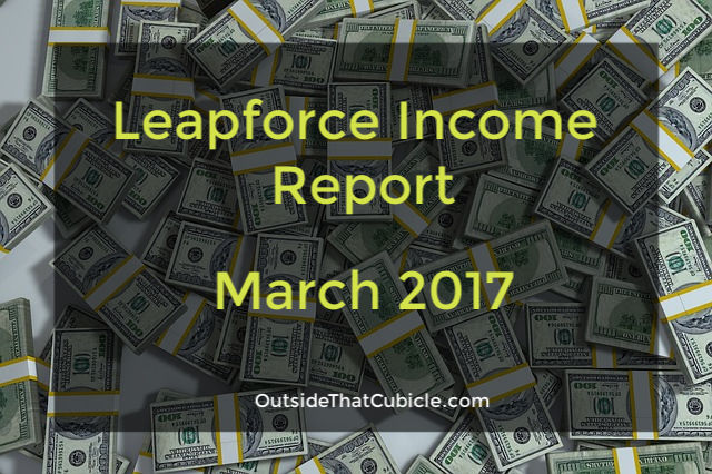 Leapforce Income Report – March 2017