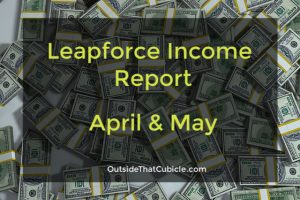 Income Report – April & May