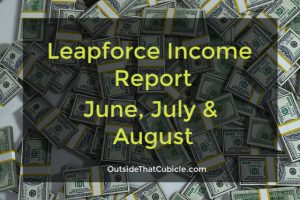 Leapforce Income Report June, July & August