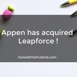 Appen has acquired Leapforce !
