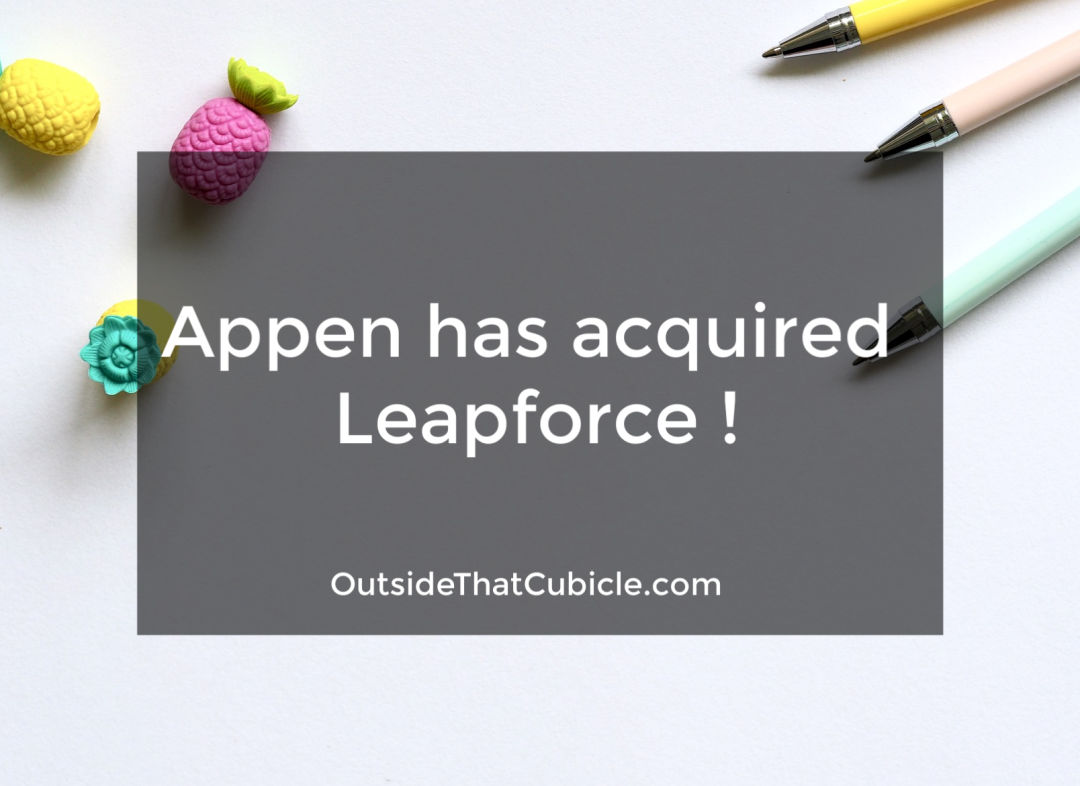Appen has acquired Leapforce !
