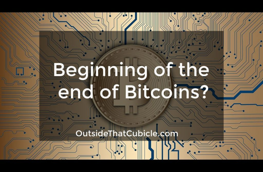 Beginning of the end of bitcoins?