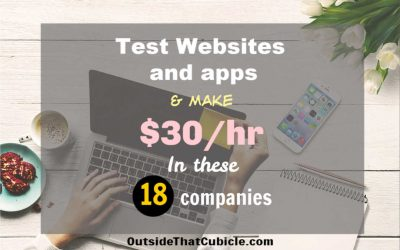 18 Sites Where You Get Paid $30/hr To Test Websites And Apps