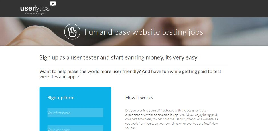 Make $30/hr testing apps and websites in these 18 trusted