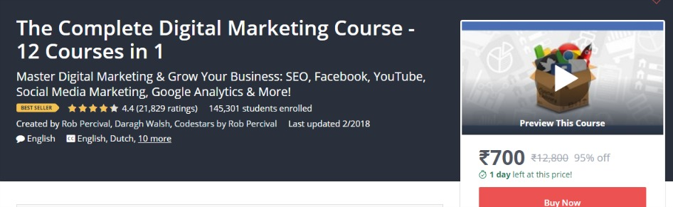 learn any new skill with Udemy