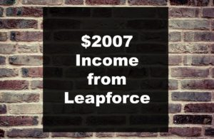 Appen/Leapforce Search Engine Evaluator Income of $2007/mo