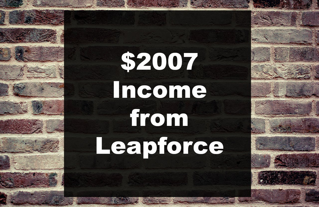Appen/Leapforce Search Engine Evaluator Income of $2007/mo