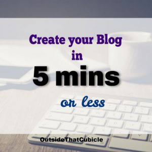 How to start a blog – Step by Step tutorial with video instructions