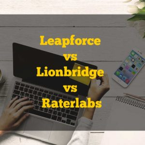 Leapforce vs Lionbridge vs Raterlabs