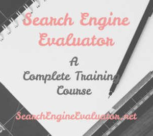 Search Engine Evaluator - Complete Training for Total Newbies