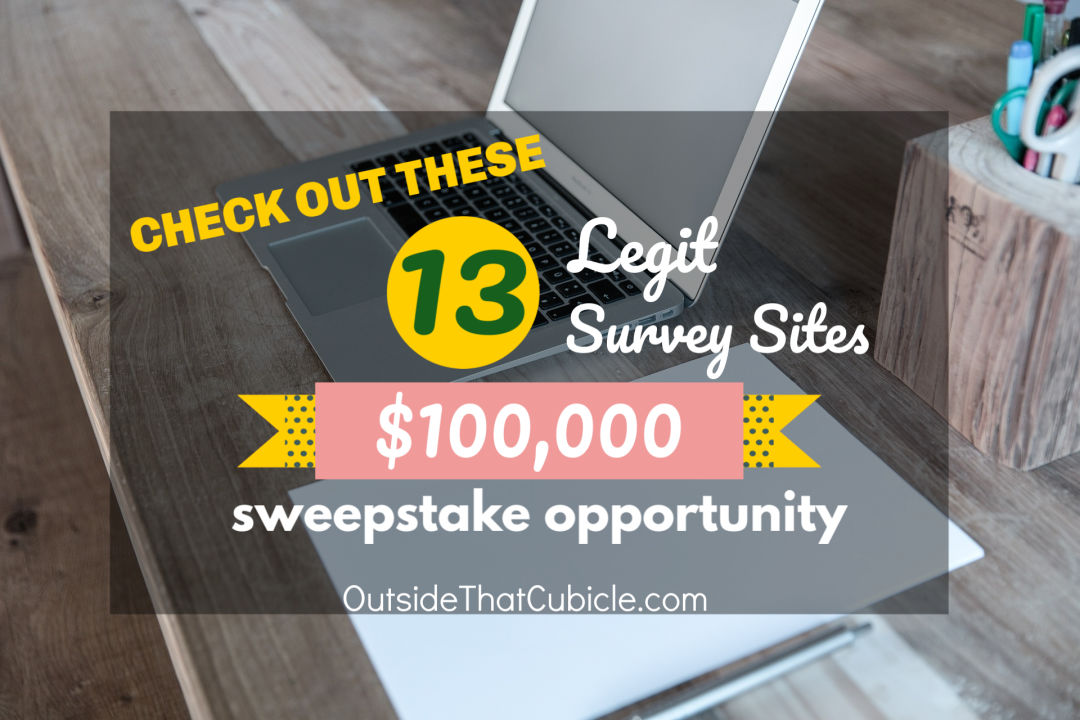 Which survey sites are legit? Find out our top picks.