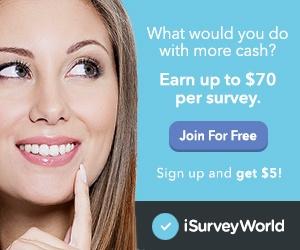 One of the highest paying survey site iSurvey World
