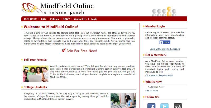 Mindfield Online