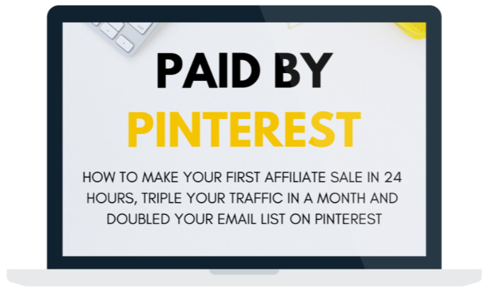 Pinterest Affiliate Marketing Course - Paid By Pinterest. This e-book is Great Pinterest Training for business
