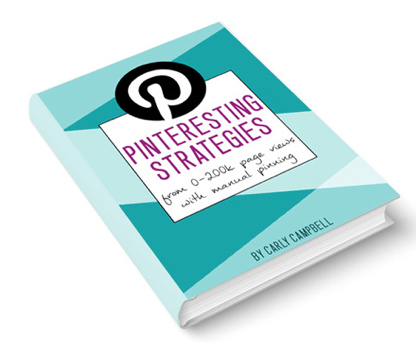 Pinterest Course for intermediate bloggers with unique approach to manual pinning.
