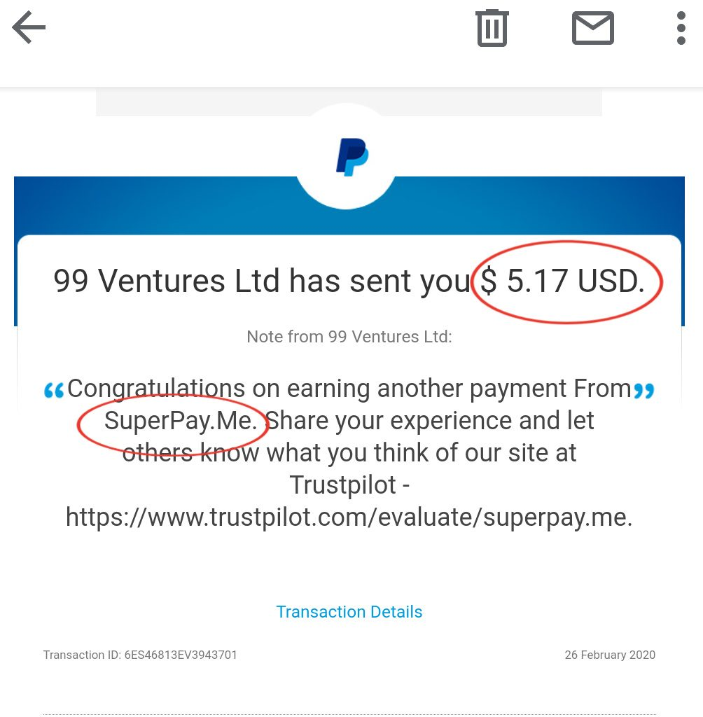 Instant Payout GTP site.