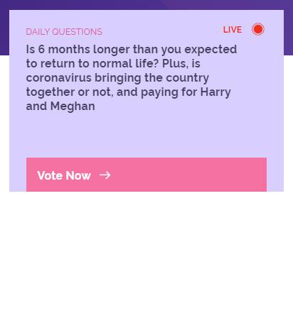 YouGov paid surveys example